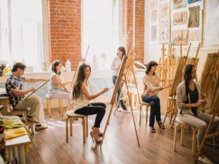 Как начать бизнес на обучении изобразительному искусству