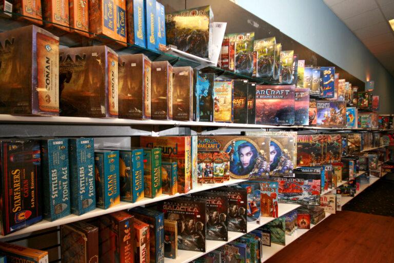 Бизнес-план магазина настольных игр